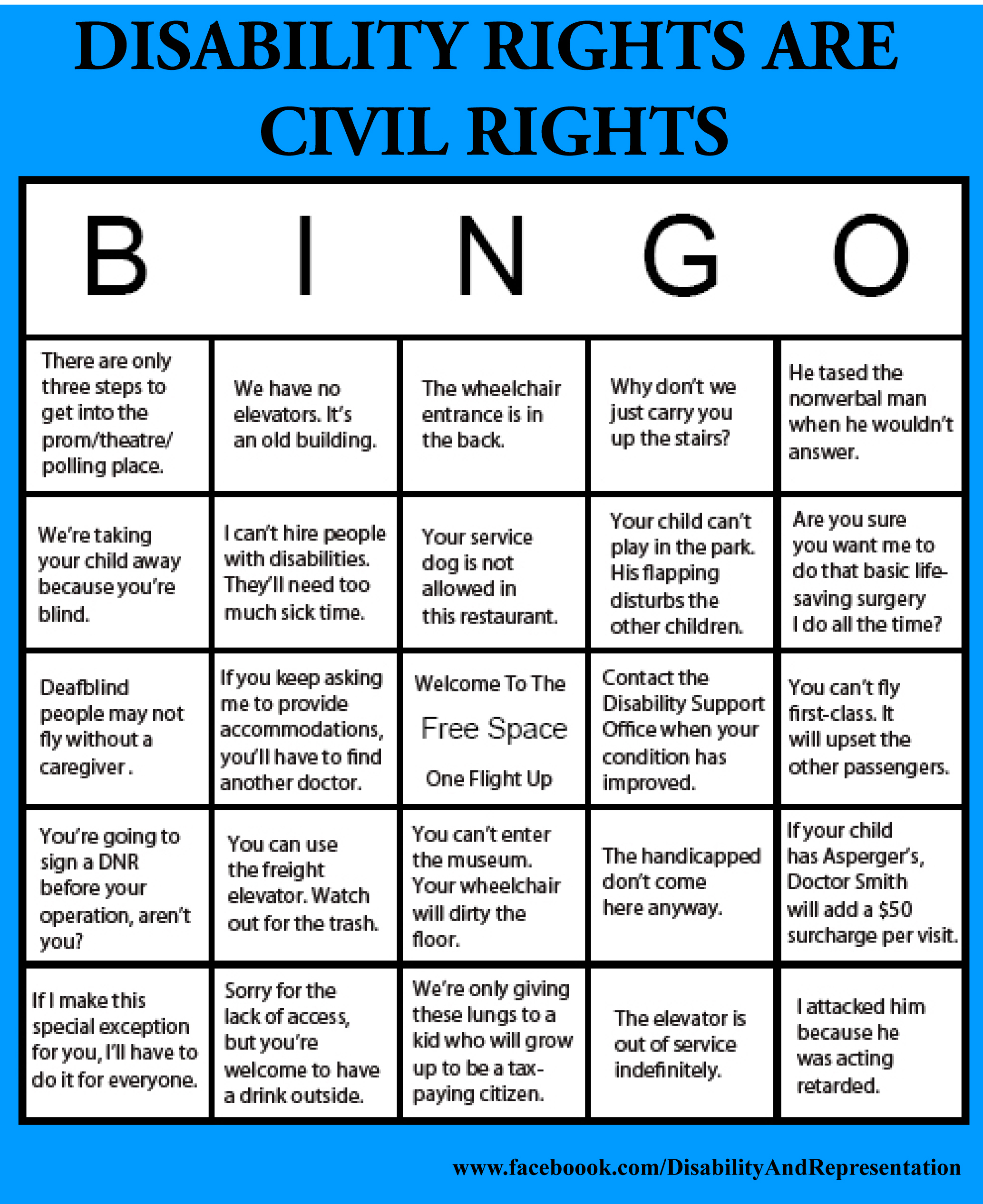 Civil Rights Graphic Design